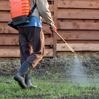 Pest Control Company - Livonia MI - Independent Lawn Service - spray